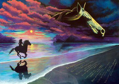 RIDE A WILD HORSE