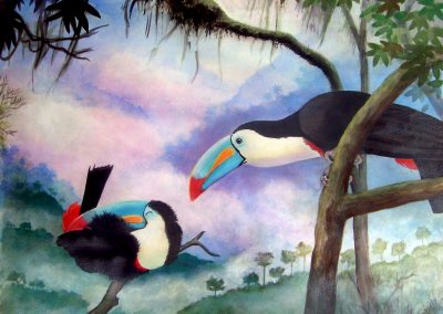 TOUCANS-IN-THE-MIST